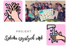 """Zajęcia z projektu """"Szkoła czystych rąk"""" Motylki"""